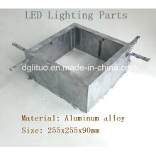 Aluminium Alloy Die Casting LED Lighting Housing Body Parts