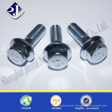 zinc 10.9 for Europe hex flange bolt