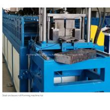 Профилегибочная машина для производства электрических шкафов заподлицо
