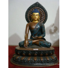 alibaba wholesale promotion metal carft female buddha statue