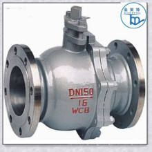 A216 Wcb Flange Type Two Peice Ball Valve