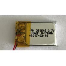 Batteria 80mAh Lipo per Smart Watch (LP1X1T3)