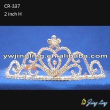 Fashion rhinestone crown tiaras for weddings