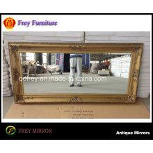 Hotel Wooden Mirror Frame with Antique Design