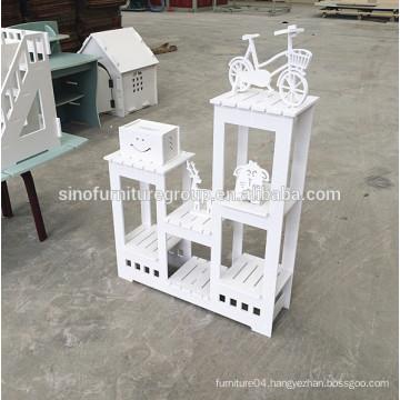 Sinofur cheap multiable wood storage shelf