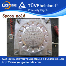 16 Cavity Plastic Spoon Moulds Disposable
