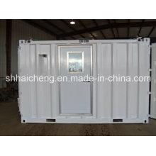 Casa de contenedor prefabricado de acero ligero para dormitorio
