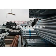 Tubería de sección hueca de acero galvanizado para construcción de estructuras
