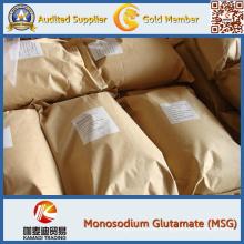 Glutamato monosódico potenciador del sabor de los alimentos, 25 kg / bolsa (msg)