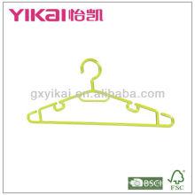Ganchos de plástico baratos para a camisa
