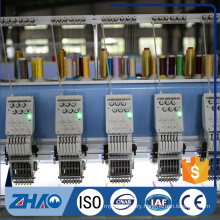 ZS 21 heads automatic computerized embroidery flat machine