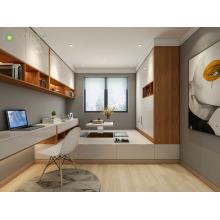 Meubles de bureau à domicile sur mesure modernes avec bureau d'ordinateur