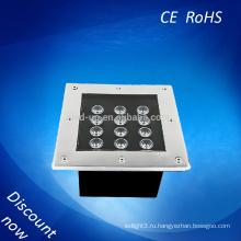 Водить пятно 12w водоустойчивый IP67 подземный свет