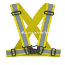 Reflektierende gelbe Sicherheitsgurt