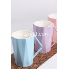 Grappig Leuk Porselein China Materiaal Groothandel Koffie Cup & Fashion Style Design Water Cup