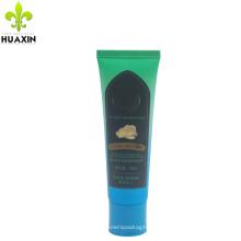 Tube de stratification de pommade de colorant de cheveux de 90ml en plastique avec le chapeau supérieur de flip