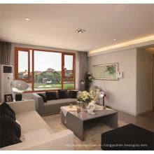 Новый дизайн терморазрывом окна, алюминиевого окна, деревянного дома