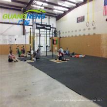 Professional Factory Gym Noise Reduction Rubber Flooring Tile