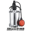 (SDL400C-33B) Aço inoxidável jardim bomba submersível para água de chuva, água do mar, álcool