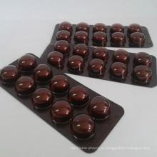 Дозировка в таблетках сульфата железа