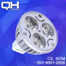 3W(3*1W) 12V MR16 Led Spotlight