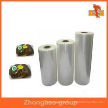 Fabricants OEM de produits alimentaires de qualité alimentaire film strech pour vagetable, fruit, palette d'emballage