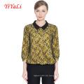 Soem-Sommer-Mode-Spitze-Ol-Art-Bluse 3/4 Hülsen-Frauen-Hemd