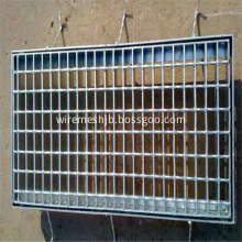 Galvanized press steel grating for drainage channel