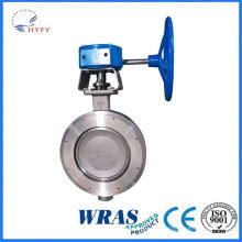 Decorative and Practical underground pipe network flange butterfly valve for drainage
