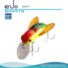 Angler Select 3.7cm Bee Insect Lures Bass Crank Baits Top Water Fishing Tackle Lure (IS0337)
