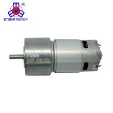300 rpm ratio high torque 12v or 24v dc gear motor for BBQ grill