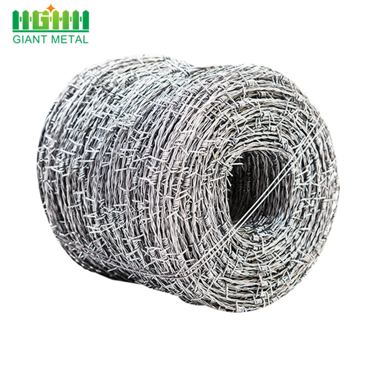 PVC Coated Galvanized Chain Link Barbed Wire