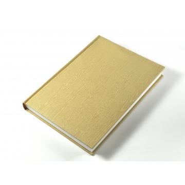 Alta calidad PU cuero Hardcover Notebook impresión
