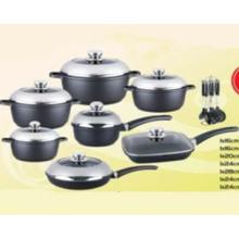 Die-Casting Non-Stick Cookware Set 21PCS (LF0021)