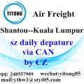 Shantou Air Freight Logistics nach Kuala Lumpur