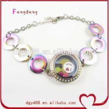 Fabricant de bracelet en acier inoxydable filles