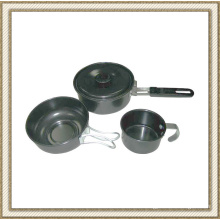 Non Stick Camping Cookware Set Cl2c-Dt1303-3
