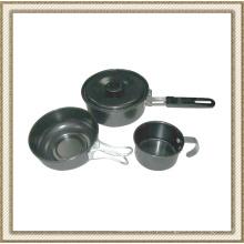Conjunto de utensílios de cozinha não-Stick Cl2c-Dt1303-3