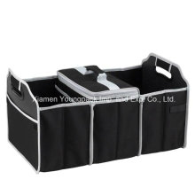 Custom Black 3-Section Foldable Trunk Organizer and Cooler Set