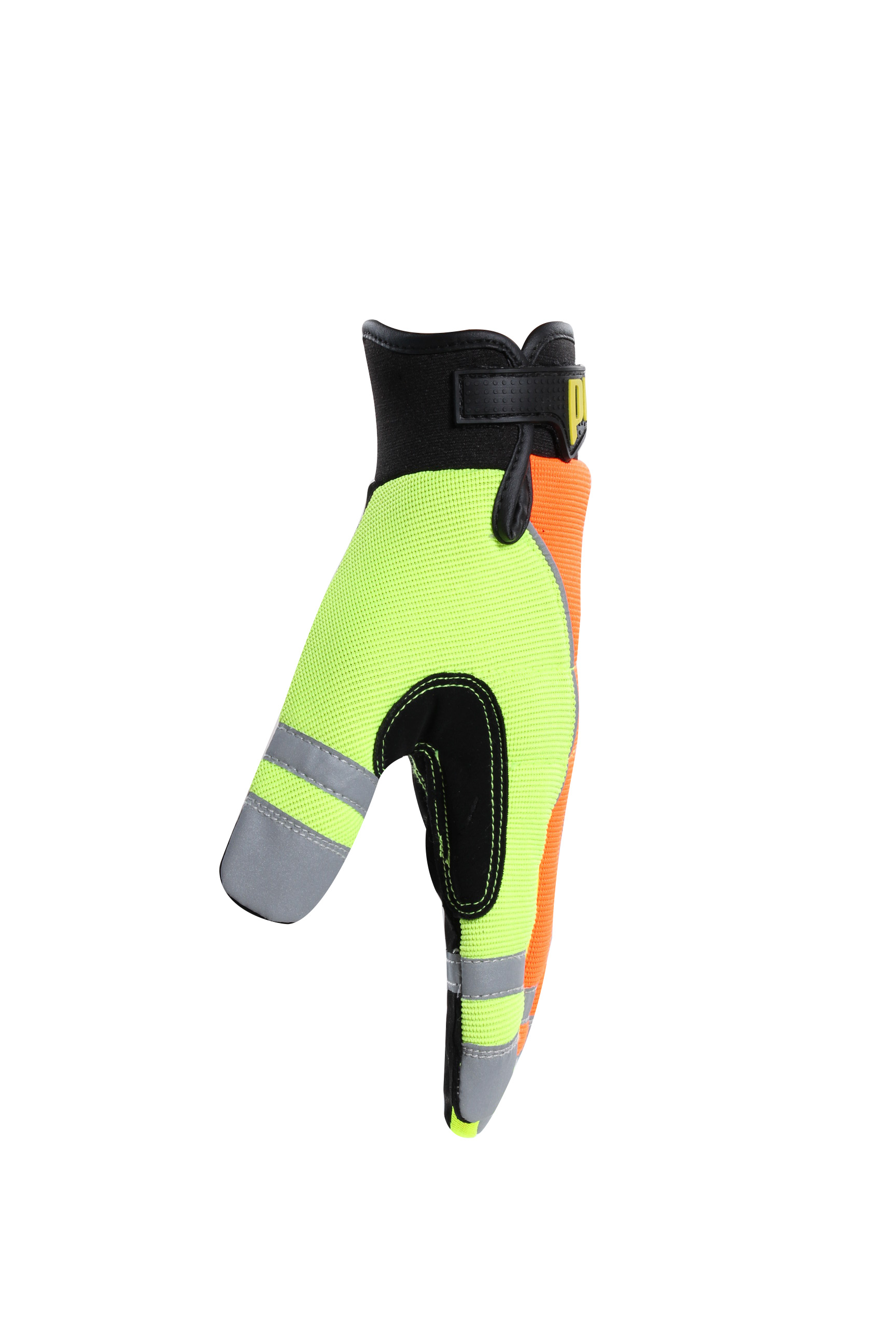 finger protect luminous cycling gloves