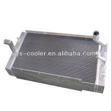 Ingeniero mecánico refrigerador de aceite intercambiador de calor / radiador de aceite hidráulico