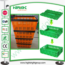 Plastic Foldable Storage Vented Container