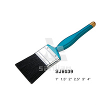 Sjie8039 Blue Plastic Handle with Pure Bristle Paint Brush