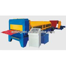 Máquina de formação de rolo de painel de soffit de metal
