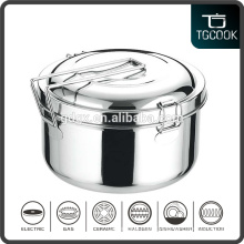 Wholesale stainless steel round 2 layer tiffin lunch box, tiffin box, food container