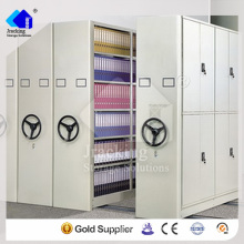 China Nanjing Jracking Hot Selling Industrial Storage Manual Compactor Racking System