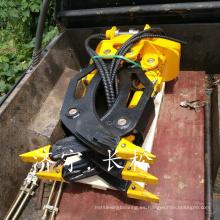 Accesorios de excavadora de alta calidad hidráulica registro de la grapa