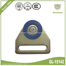 Roda lateral do plástico do rolo do gancho da rede do rolamento lateral da cortina