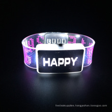 2016 Christmas Party Kids Toys Led Light Bracelet