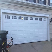 American Style 12X12 Overhead Garage Carport Door Made In China